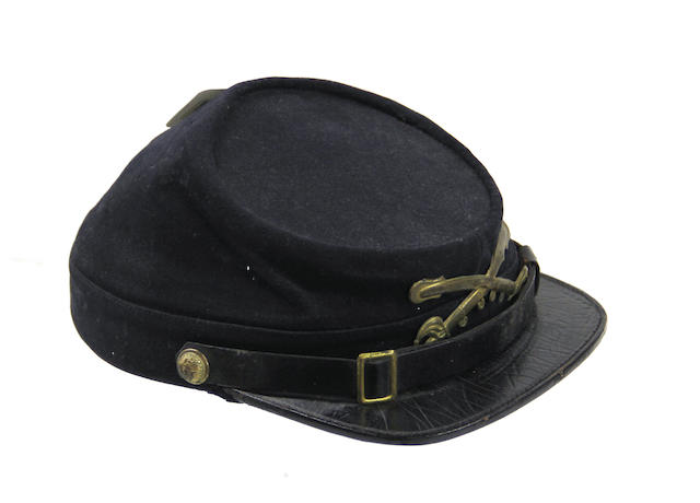 A Model 1872 New York state militia cavalry enlistedman's kepi by McKenny & Son