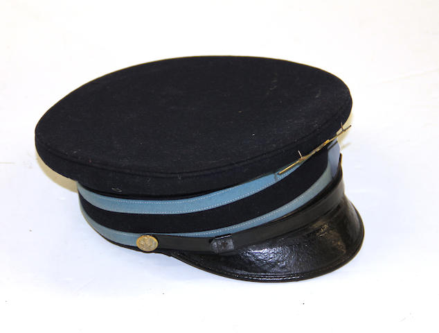 A U.S. Model 1902 infantry enlistedman's dress visor cap