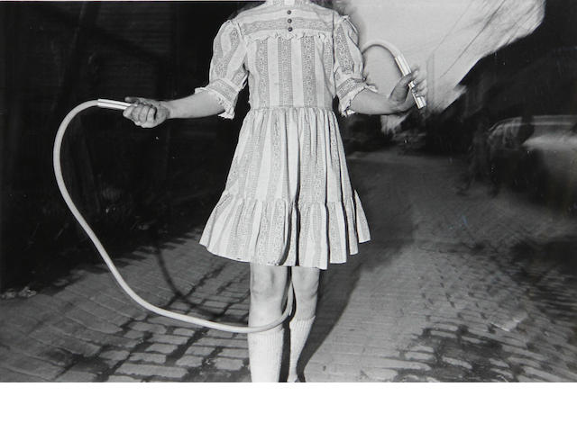 Mark Cohen, Girl Skipping Rope, 1980;