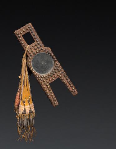 A Cheyenne mirror stick