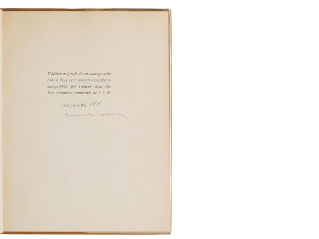 SAINT-EXUPERY, ANTOINE DE. 1900-1944. Le Petit Prince. New York: Reynal & Hitchcock, [1943].