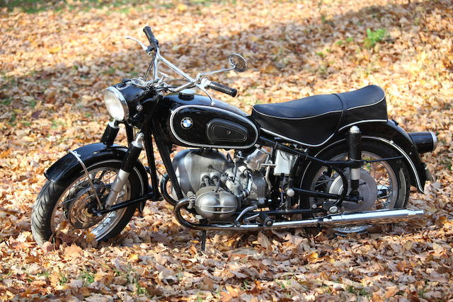 Original example of one of 1,634 produced,1961 BMW 494cc R50S Frame no. 564290 Engine no. 564290