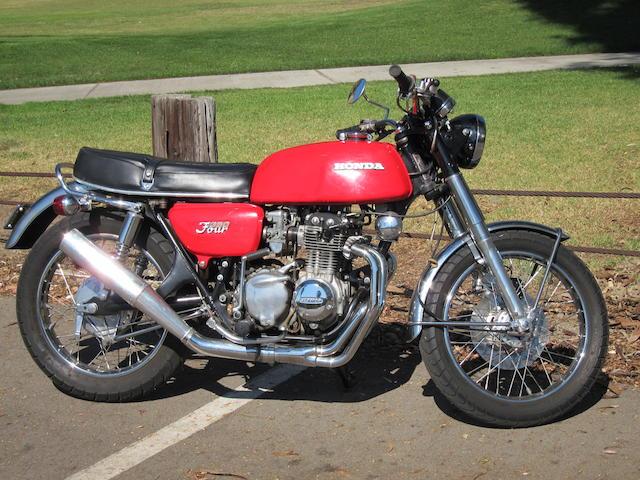 1973 Honda CB350/4 Frame no. CB350F1017846 Engine no. CB350FE1017889