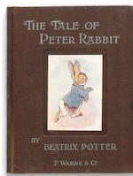 POTTER, BEATRIX. The Tale of Peter Rabbit. London: Frederick Warne and Co., [1902].