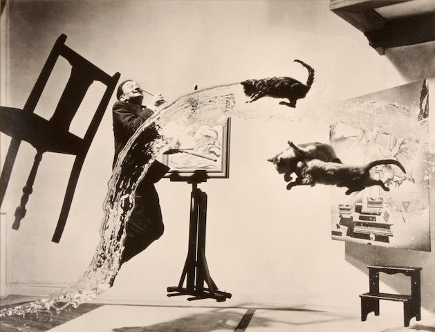 Philippe Halsman (American, 1906-1979); Dalí Atomicus;