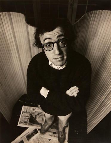 Philippe Halsman (American, 1906-1979); Woody Allen;