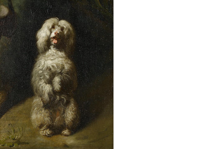Circle of Henry Bernard Chalon (British, London 1770-1849) A Begging Poodle