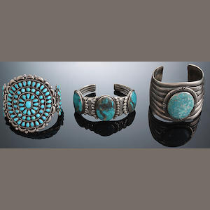 Three Southwest bracelets