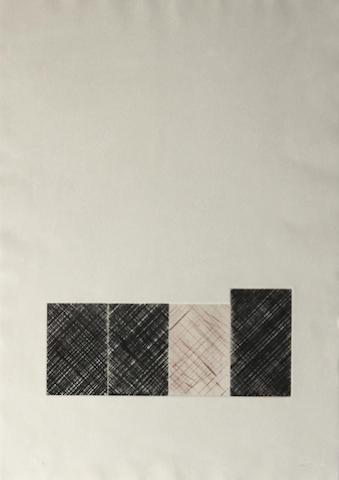 Ed Moses, EM G-4, color lithograph, 4/5