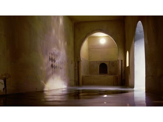 James Casebere (American, born 1953); Spanish Bath (Horizontal);