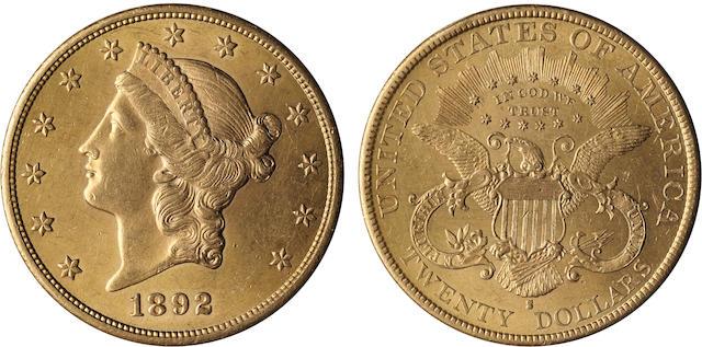 1892-S $20
