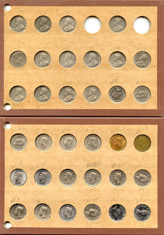 Collection of Canadian 5 Cents