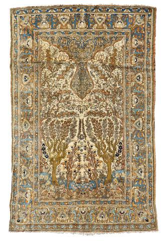 An Esphahan rug
