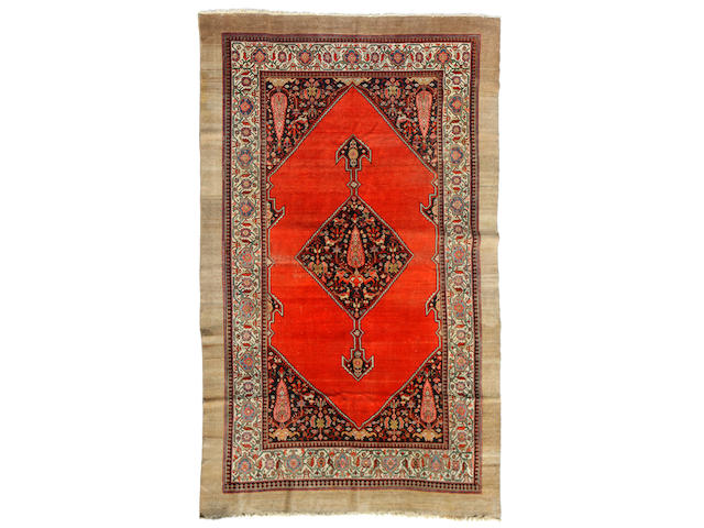 A Serab carpet