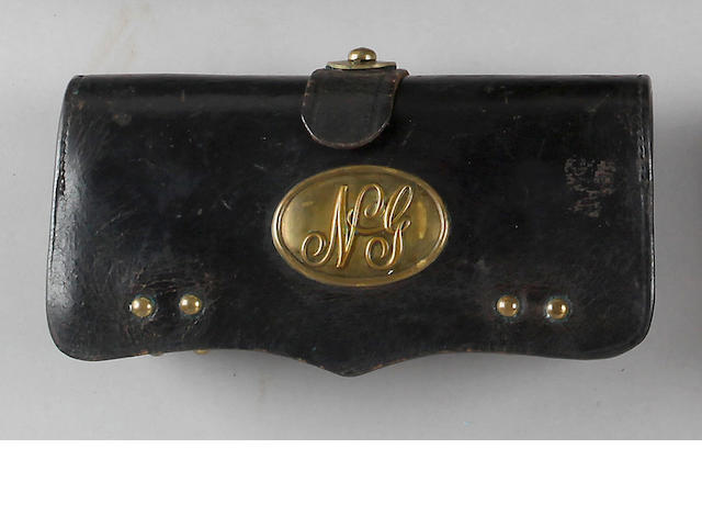 A National Guard Frazier's Patent cartridge box by McKenney of New York