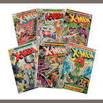 A group of X-Men comic books