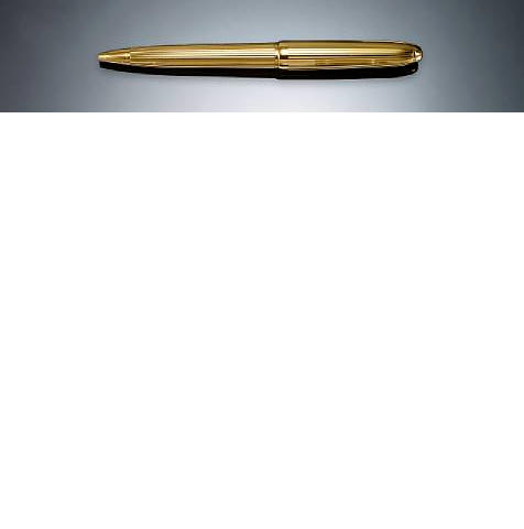 CARTIER: Gold-plated Ballpoint Pen