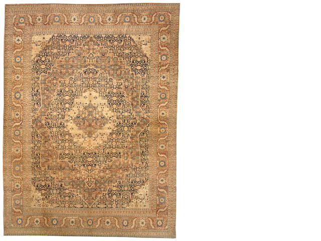 A Hadji Jalili Tabriz carpet Northwest Persia size approximately 9ft. 5in. x 12ft. 7in.