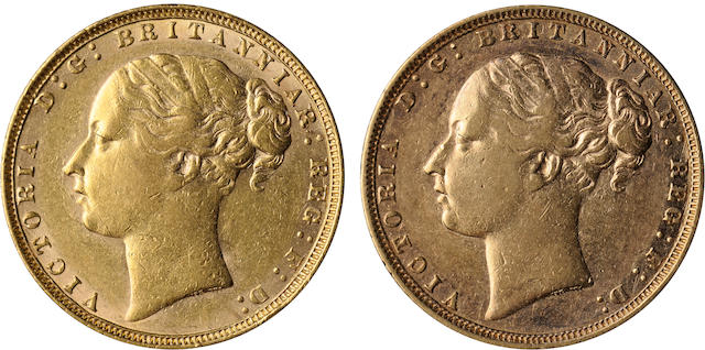 Great Britain, Victoria, Sovereign, 1873 (2)