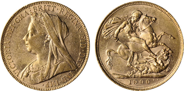 Great Britain, Victoria, Sovereign, 1900