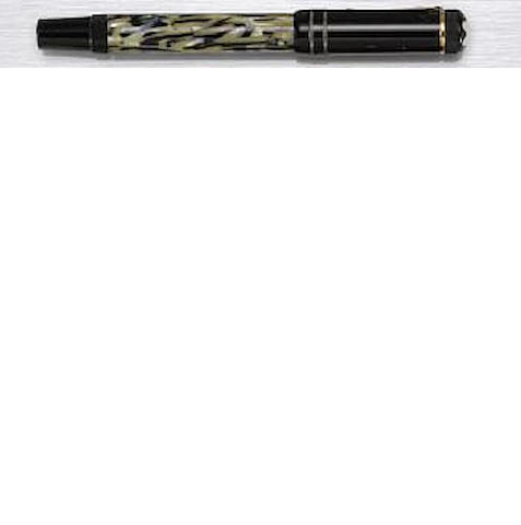 MONTBLANC: Oscar Wilde Limited Edition Writers Series Fountain Pen