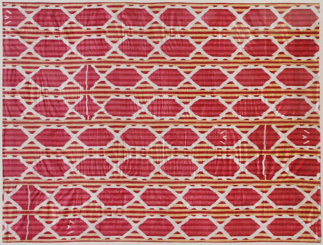 An Ikat panel