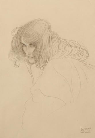 Gustav Klimt (Austrian, 1862-1918); Funfundzwanzig Handzeichnungen; (21)