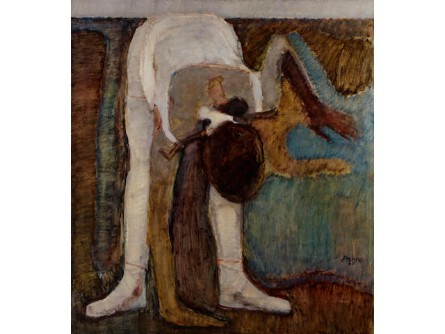 John Asaro (American, born 1937) The dancer, 1969 42 x 38in