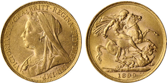 Australia, Victoria, Sovereign, 1899-P