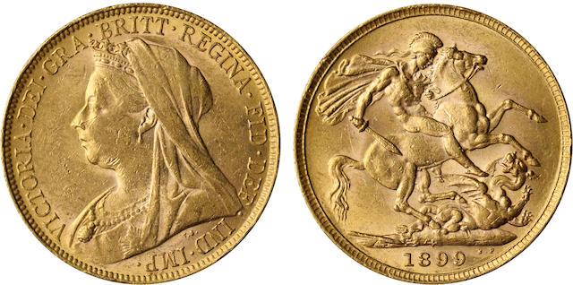 Australia, Victoria, Sovereign, 1899-P