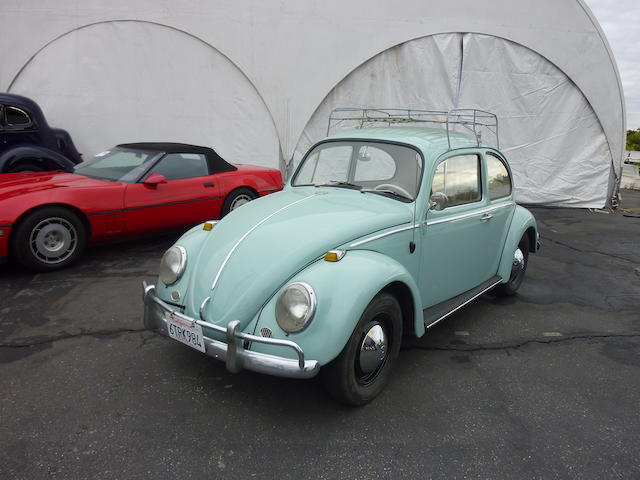 1965 VW Beetle Coupe  Chassis no. 115518142 Engine no. AH427870