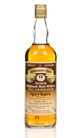 Speyburn-10 year oldSpeyburn-18 year old-1971