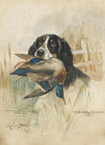 Reuben Ward Binks (British, 1880-1940) F.T.Ch Dan of Avondale