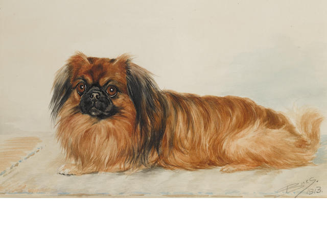 Reuben Ward Binks (British, 1880-1940) A Pekingese