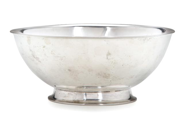 An American silver bowl<BR />Probably Joseph Rice, Baltimore, circa 1784