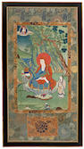 A pair of Sino-Tibetan thangka 19th century