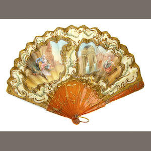 A fabric and resin fan