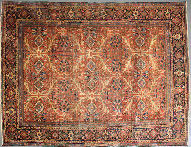 A Mahal carpet size approximately 8ft. 6in. x 11ft. 6in.