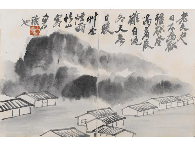 Qi Baishi (1863-1957) Album of various subjects