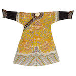 A yellow dragon robe Jiajing Dynasty