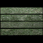 A set of ten spinach jade panels