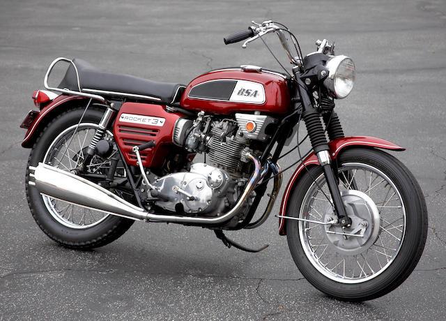 1969 BSA Rocket 3 Frame no. BC01648A75R Engine no. BC01648A75R
