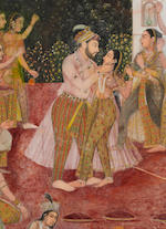 MARCH NY 2012****A Mughal school painting