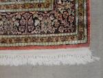 A Kashan rug
