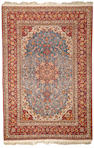 An Isphahan rug Central Persia size approximately 4ft. 10in. x 7ft. 2in.