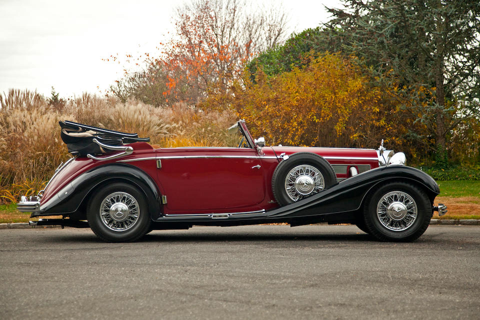 In the present ownership for more than 40 years,1937 Mercedes-Benz 540K Cabriolet 'C'  Chassis no. /Commission no. 236583 Engine no. 154064