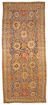 A Bidjar carpet (has been reduced) Northwest Persia size approximately 7ft. 3in. x 17ft. 6in.