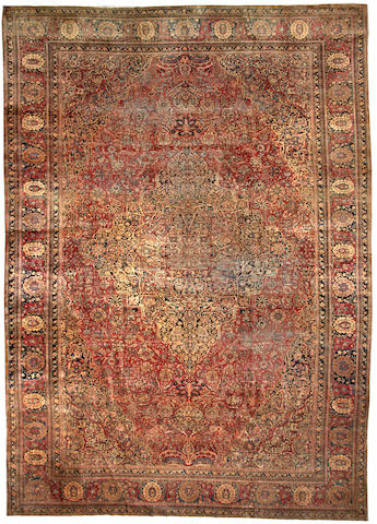 A Mohtasham Kashan carpet Central Persia size approximately 12ft. x 17ft.