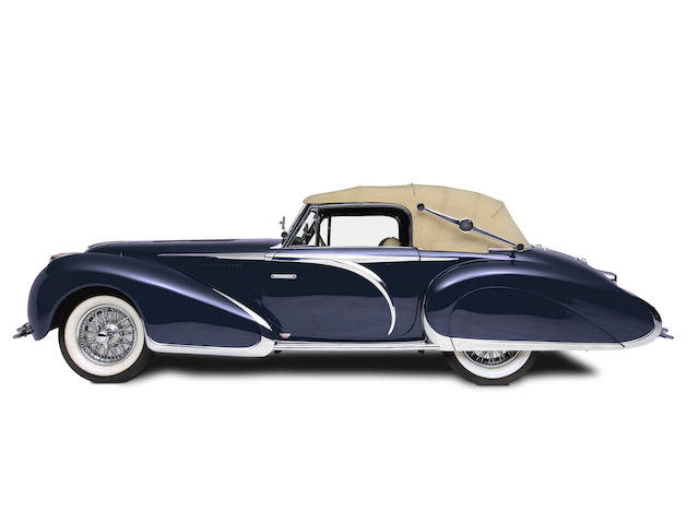 1947 Delahaye 135M Three-Position Drophead Coupé