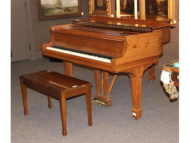 A model M Steinway grand piano Serial no. 362588